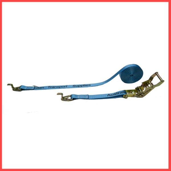 25MM X 6M X 700KG Heavy Duty Ratchet and Strap